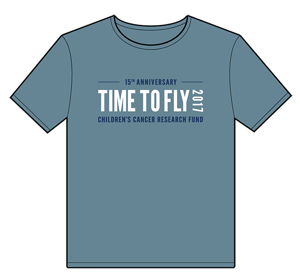 15th Anniversary Time to Fly t-shirt