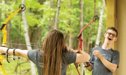 Camp Norden, archery shooting